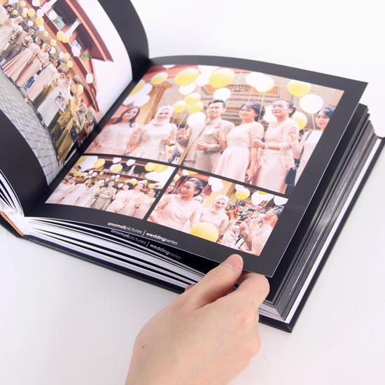 Photo Album Magazine Square 20x20 cm - Media Lokal
