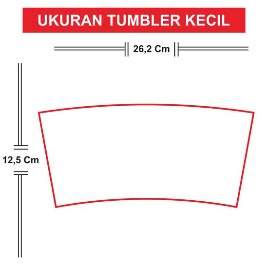 Tumbler Tinggi 14 cm