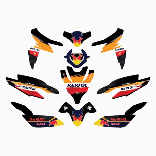 Stiker Maxdecal Vinyl / Stiker Branding Motor