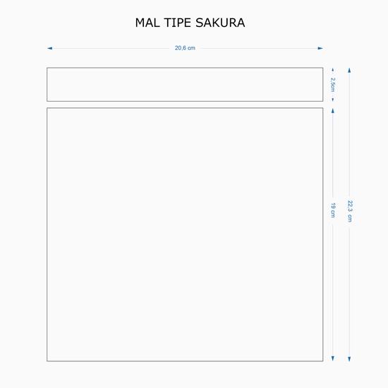 Tumbler Print UV Tipe Sakura