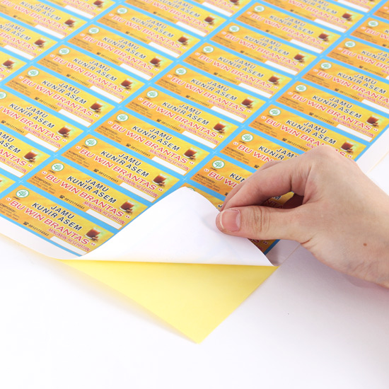 Cetak Sticker A3+